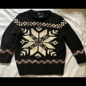 Boys Polo Ralph Lauren Christmas sweater 2T